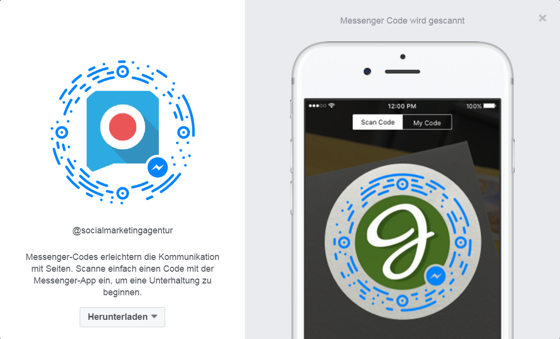 Messenger Code - Einsatz des Facebook Messenger im Recruiting