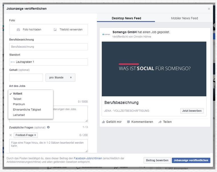 Facebook_Stellenanzeige_Maske_Daten