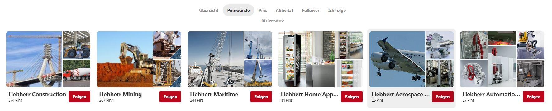 Pinterest-B2B-Liebherr-Pinnwand
