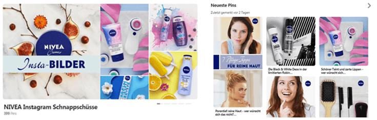 Pinterest-B2B-Nivea-Design-Pinnwand
