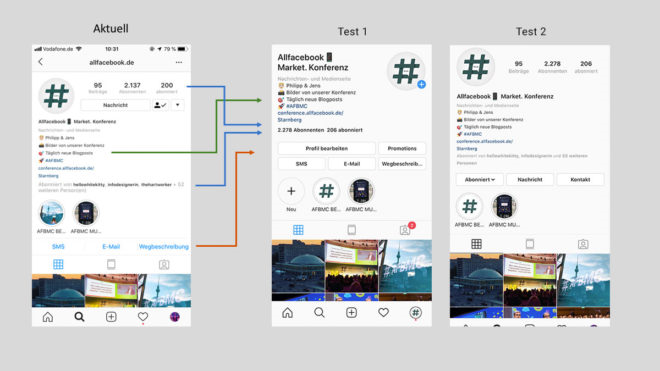 instagram-redesign-unternehmensprofile