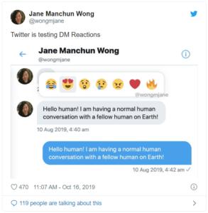 Twitter_Emoji Reaktionen