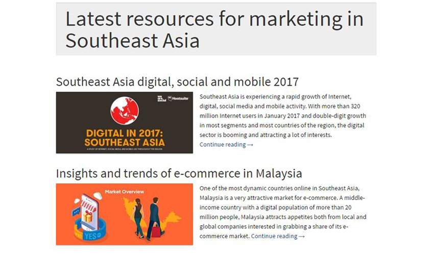 Asean Up - Social Media Blog Trendscouting