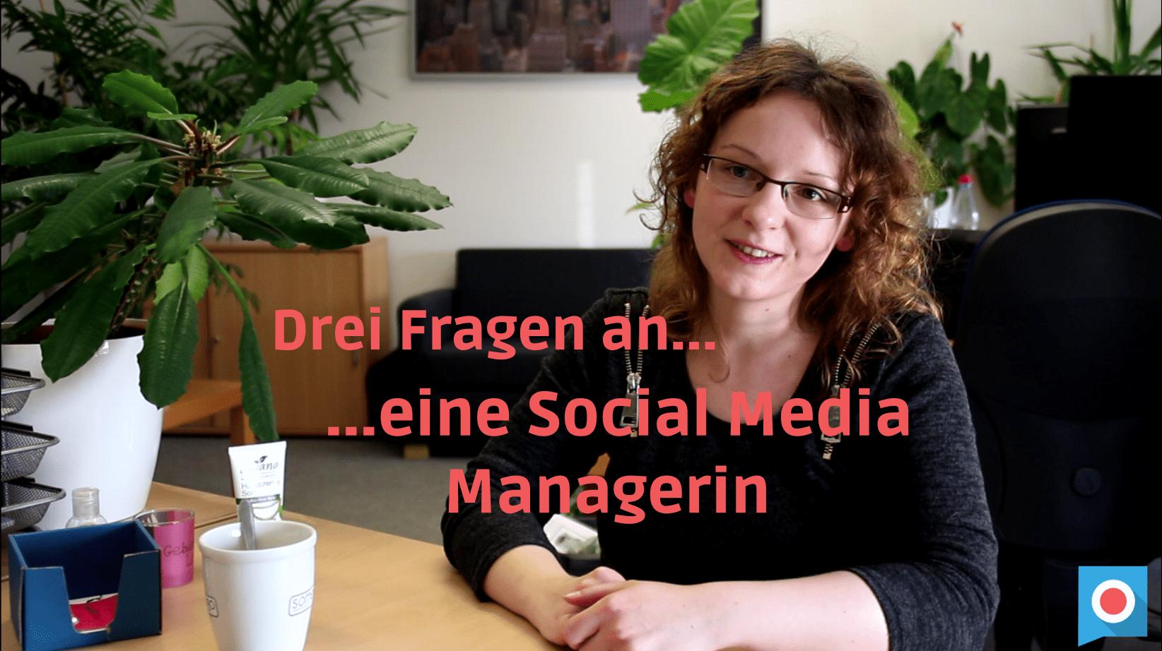 Arbeitsalltag Social Media Managerin