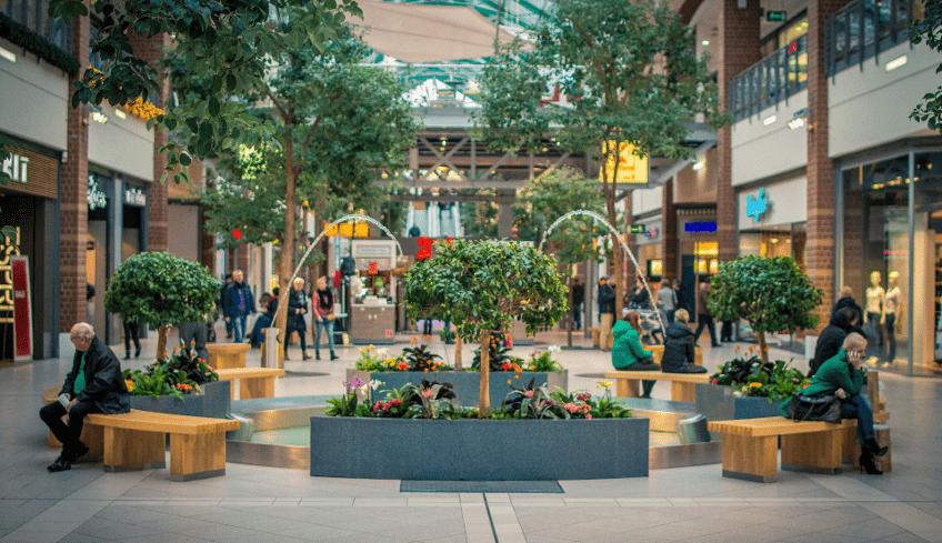 Einsatz von Beacons im Einkaufzentrums