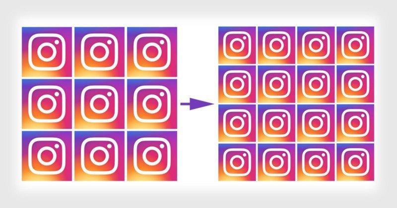 Instagram-Grid-Raster-Neue-Darstellung