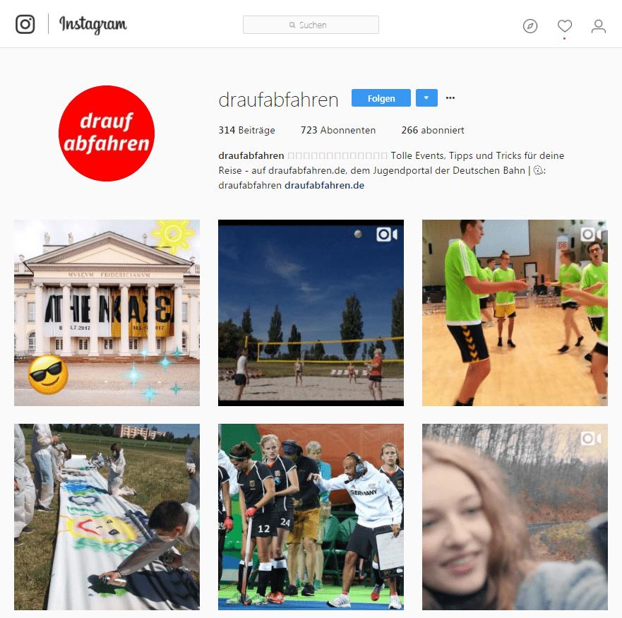 Instagram_Draufabfahren_Influencer Kampagne