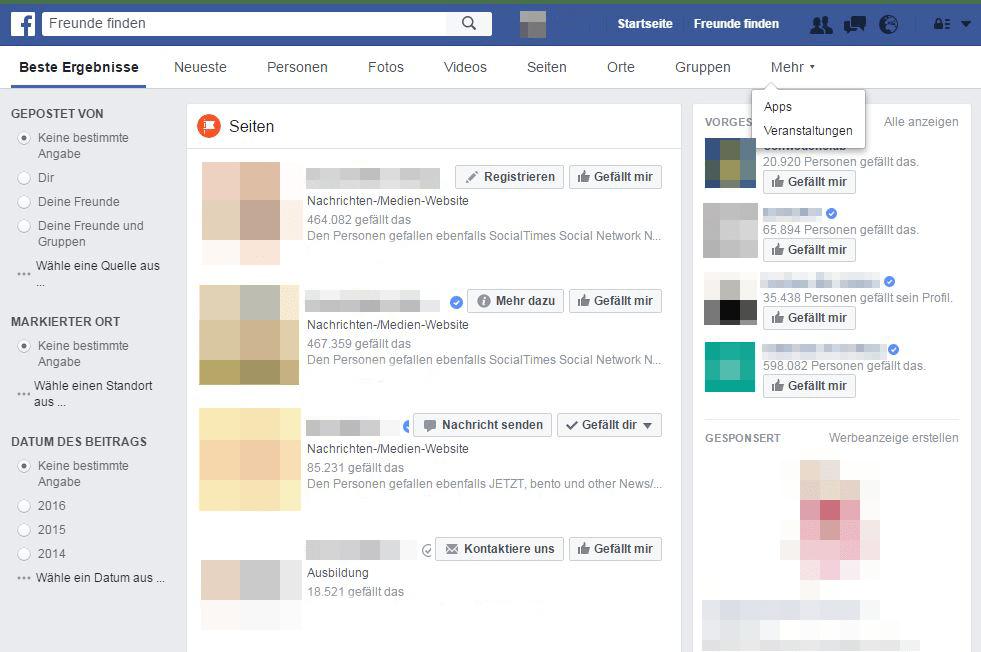 Konkurrenzanalyse_Facebook_Suche