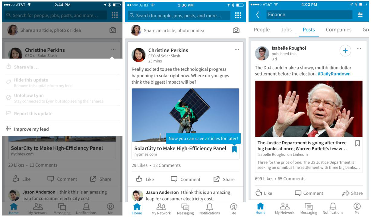 LinkedIn-App-Update