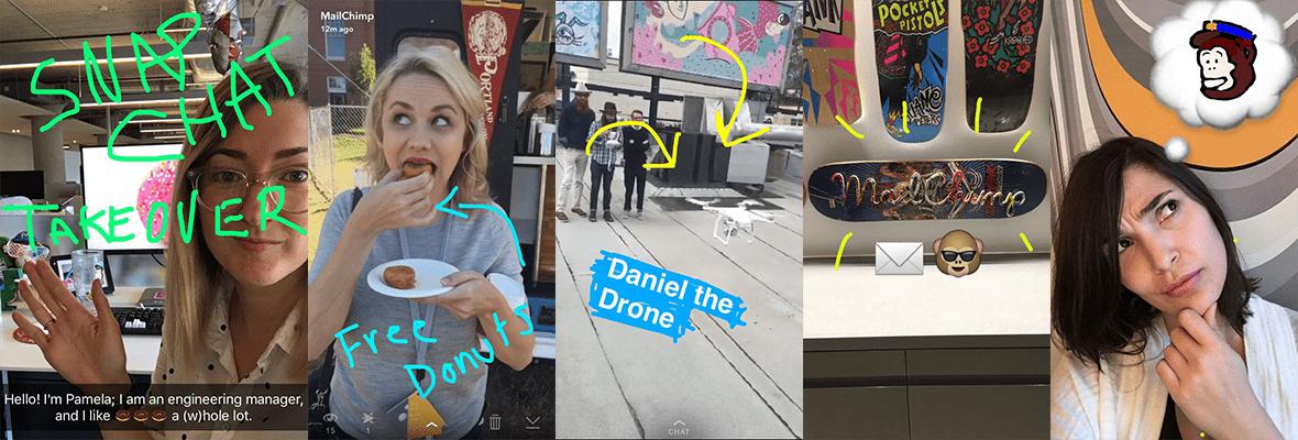 Mailchimp-Snapchat