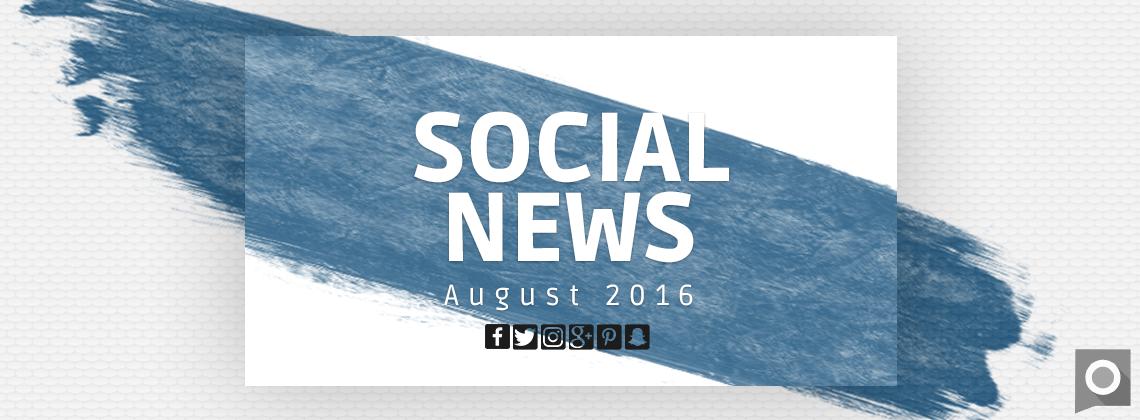 Social News im Monat August