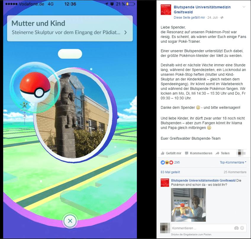 Pokémon Go im Marketing