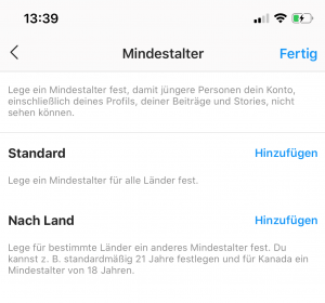 instagram-mindestalter-follower