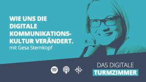 Podcast Linkvorschau mit Bild von Gesa Sternkopf und dem Podcast-Titel