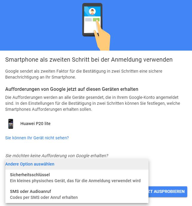Ohne interhesu: handynummer konto google Google Konto